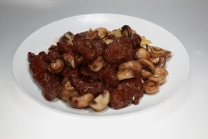 Pan Fried Beef Tenderloin with Mixed Mushrooms